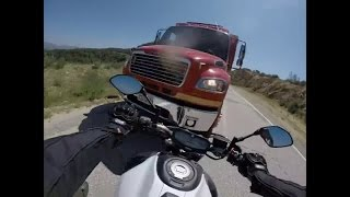 Consequences of not understanding Counter-steering on a motorcycle
