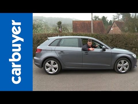 Audi A3 Sportback (hatchback) 2013 review – CarBuyer