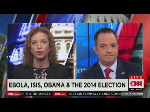 politics - Represenative Debbie Wasserman Schultz and Chairman Reince Preibus debate what the 2014 midterms are about.