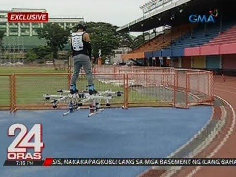 24 Oras: High-tech na hoverboard, inimbento ng isang Pinoy
