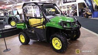 3. 2018 John Deere Gator XUV 590 M Utility ATV - Walkaround - 2017 Toronto ATV Show