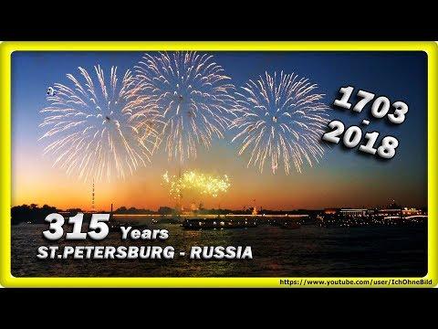 🔴 315 лет • Санкт-Петербург | Россия - Firework • ST.PETERSBURG | RUSSIA - White night - Timelapse