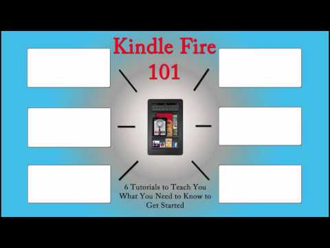 Kindle Fire 101 (Learning the Basics) | H2TechVideos