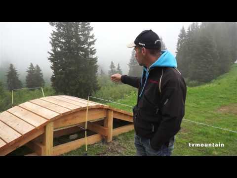 comment construire une passerelle pour vtt