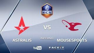 Astralis vs mousesports, ECS S4, inferno