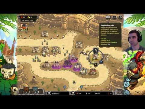Darmowe Gry Online - Kingdom Rush Frontiers Dżin!