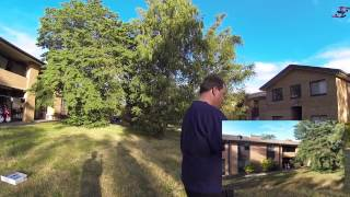 20 November 2014 - Parrot Bebop Drone First Flight