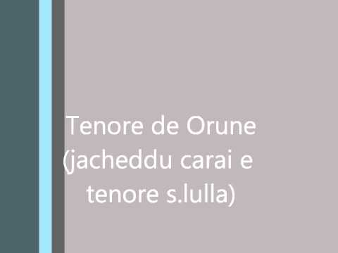 Tenore de Orune ( Jacheddu Carai boche e ballu )