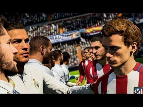 REAL MADRID - ATLÉTICO MADRID [FIFA 18]