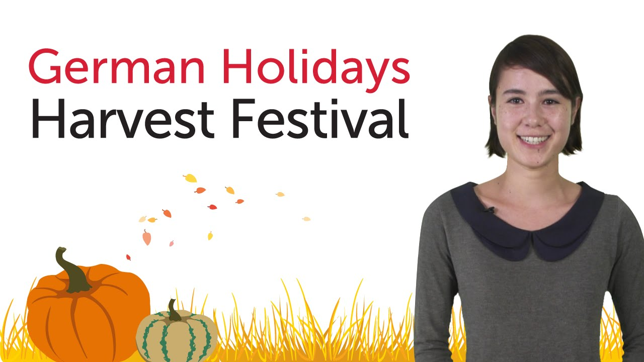 German Holidays – Harvest Festival