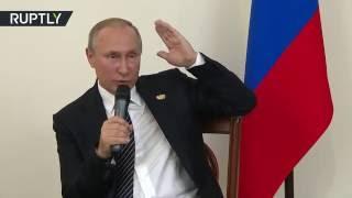 Путин о возможности отмены контрсанкций в отношении Запада: Фиг им!