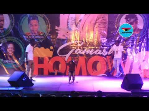 Homowo Diaries: Little boy performs Shatta Wale's song at Gamashi Homowo Bash