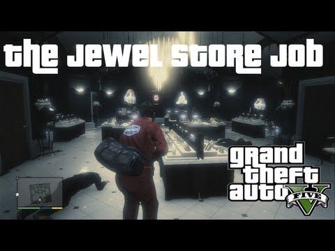 best crew and approach for most money the jewel store job gta v guide xbox 360 ps3 pc. Black Bedroom Furniture Sets. Home Design Ideas