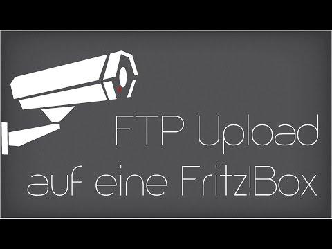 Aufnahme per FTP auf einen USB Speicher an einer AVM Fritz!Box