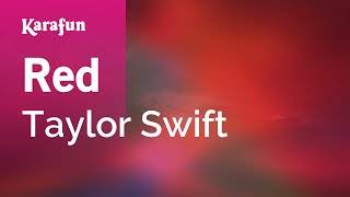 Karaoke Red - Taylor Swift *