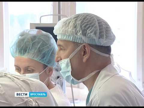Ярославские хирурги начали проводить операции на позвоночных артериях