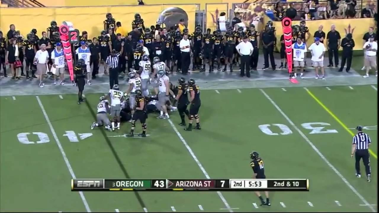 Dion Jordan vs Arizona State (2012)