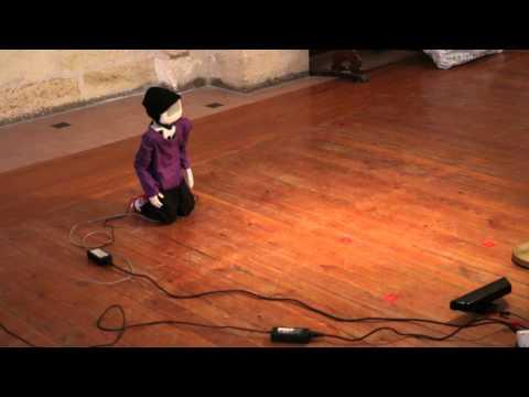 Êtres et Numérique: Sound interaction with Poppy, first trial.