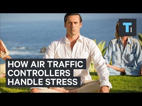 Air traffic controllers are masters of handling stress