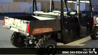 10. 2015 Polaris Ranger Crew 570 EPS Sunset Red  - RideNow Po...