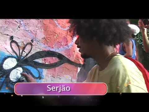 Semana Pré. Mutirão de Grafite em Olinda.