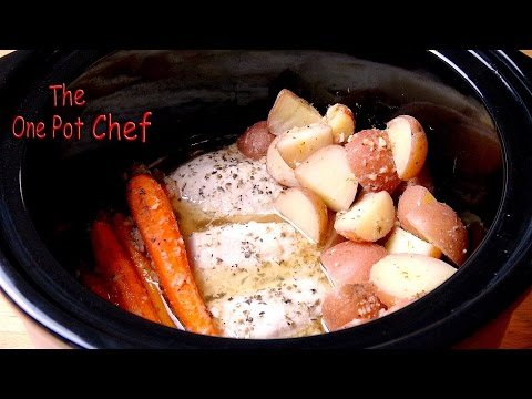 Slow Cooker Chicken Dinner with Vegetables