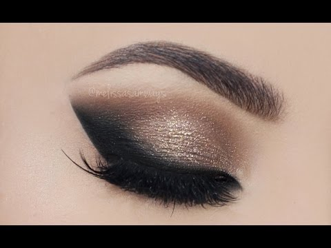 make up - smokey eye naturale