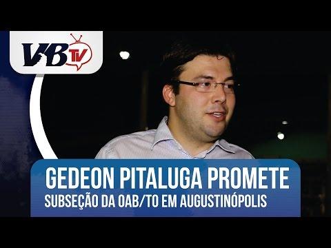 VBTv | Candidato à Presidência da OAB/TO promete criação de subseção em Augustinópolis