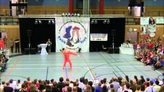 Julia Geishauser & Patrick Pfaller - Nordbayerische Meisterschaft 2014