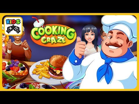 Безумный кулинар - веселая вкусная игра в ресторан от Big Fish Games * Игры для девочек
