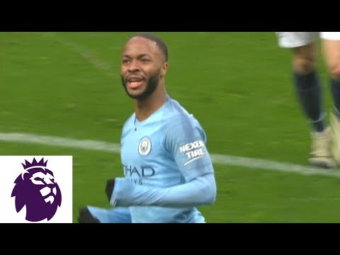 Video: Sterling restores Man City's two-goal lead against Everton | Premier League | NBC Sports