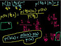 Probability (Part 8): P (A|B) Bayes' Theorem, Probability of A given B Video Tutorial