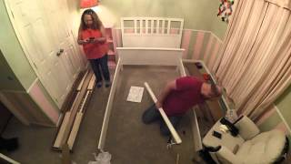 ikea bed time lapse