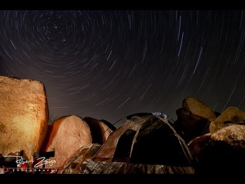 How to Photograph Star Trails at Night