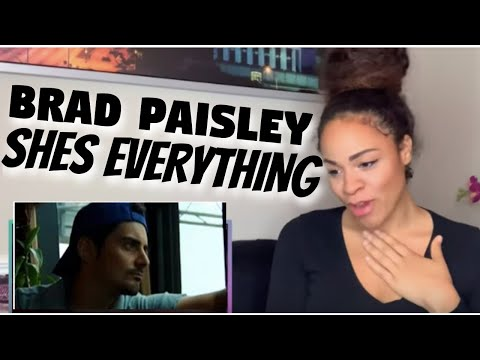Brad Paisley - She's Everything (reaction)