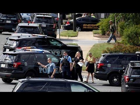 ΗΠΑ: Αιματηρή επίθεση στα γραφεία εφημερίδας στο Μέριλαντ…