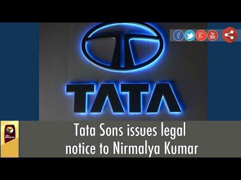 Tata-Sons-issues-legal-notice-to-Nirmalya-Kumar