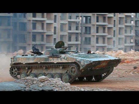 Συρία: Συνεχίζεται η προέλαση του στρατού στο Χαλέπι