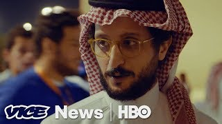 There are no movie theaters in Saudi but there is strong content being created by Saudis in the underground filmmaking scene.