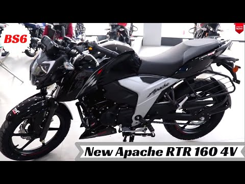 2020 New TVS Apache RTR 160 4V (BS6) Detailed Review | New Changes | Walkaround | Price | Features⚡⚡
