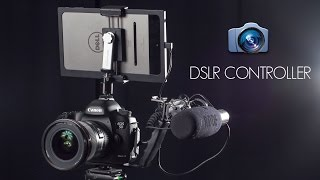 Most detailed DSLR controller break down and reviews.The links for all you need for this configuration can be find here. every thing is form Amazon.DSLR CONTROLLER APP: https://goo.gl/oaonySOTG cable: http://goo.gl/MoS1SzL Bracket: http://goo.gl/0TcsXZSquare Jellyfish tablet mount: http://goo.gl/RHvlOdCold shoe to 1/4'' adapter: http://goo.gl/z5fXHnMini USB cable: http://goo.gl/SZA9RW