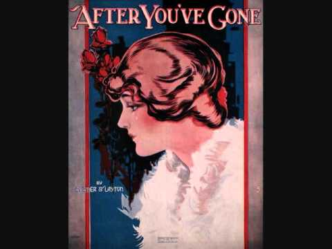 Marion Harris – After You've Gone (1918)