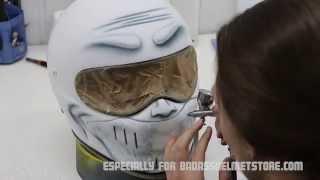 Download Lagu Airbrushing a custom motorcycle helmet- Smiley face helmet Mp3