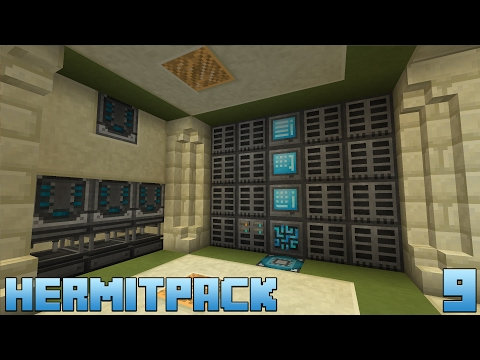 HermitPack :: E09 - Refined Storage Expansion & Automated Solderers