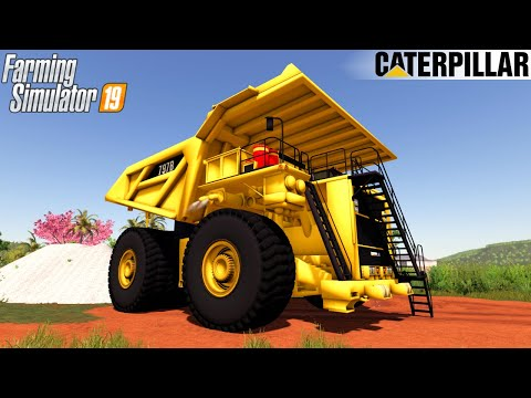 LIEBHERR T284 AND CATERPILLAR FS19 v2.0