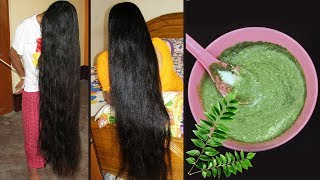 Curry Leaves Hair Mask