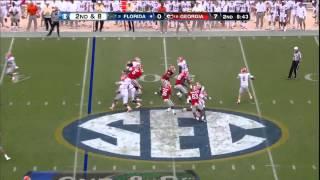 10/27/2012 Florida vs Georgia Football Highlights