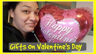GIFTS ON VALENTINE'S DAY | FAMILY VLOG