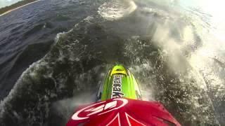 6. Jet-ski race in Saulkrasti 2015 | Kawasaki 800sx-r | Ri�ards Fukss |