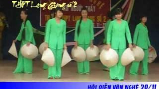 Múa nón - Khúc hát ân tình - 11A1